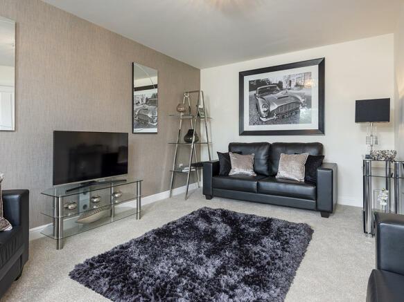 Light and spacious lounge