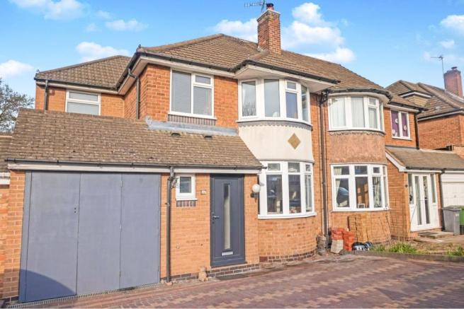 4 bedroom semi-detached house for sale in Bramcote Drive ...