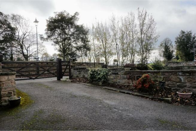 Gated Driveway