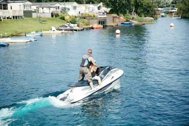 Fun on the lakes