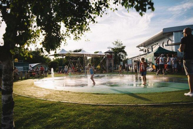 Water fun area
