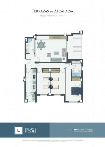 3 bedrooms - type 2