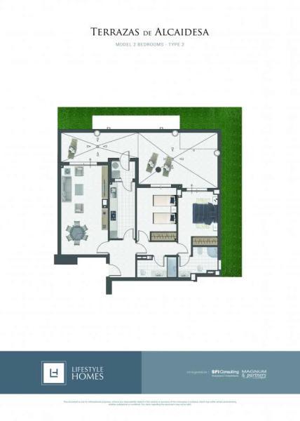 2 bedrooms - type 2