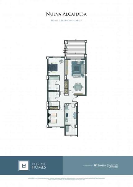 2 bedrooms type 3