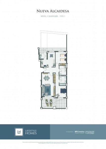 2 bedrooms type 1