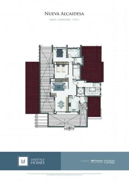 2 bedrooms type 2
