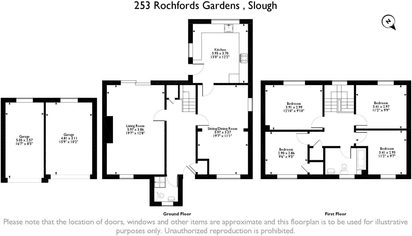 4 Bedroom Detached House For Sale In Rochfords Gardens Slough Sl2 Average Cost Of Rewiring A Three Bed