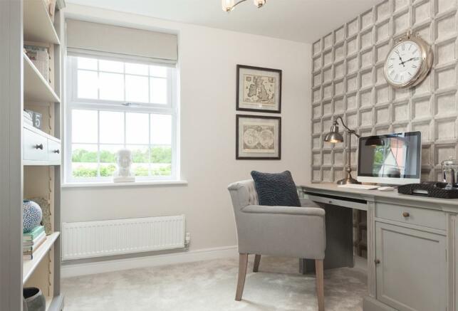 Office/bedroom space