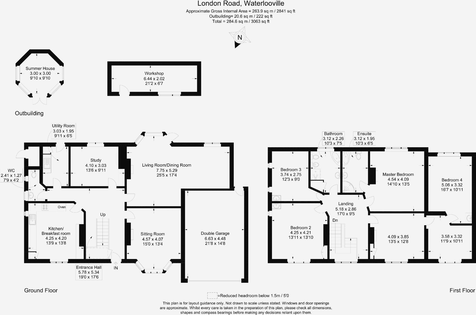 6 Bedroom Detached House For Sale In London Road Waterlooville Po7 Diagram 1 Black Is Check 2 Double