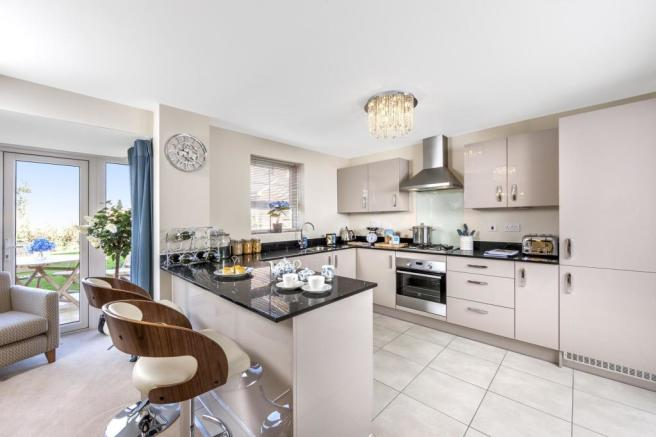 The Harborough kitchen
