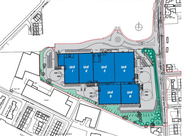 whiteheads site plan