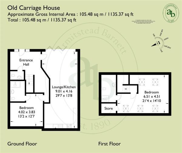 Floorplan Carriage