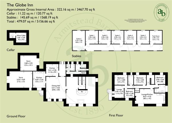 Floorplan The Globe