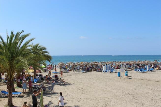 Santa Pola strand