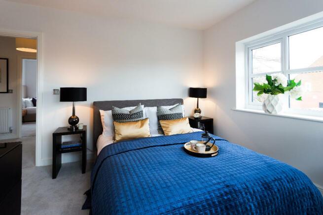 Smaller bedrooms