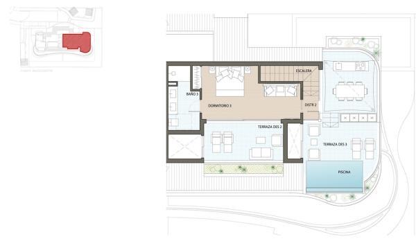 Etagevåning plan 2
