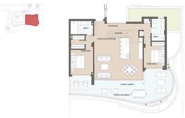 Etagevåning plan 1