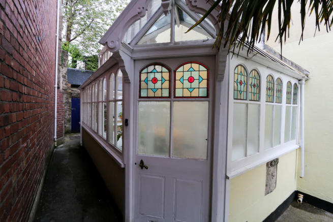 External Entrance...
