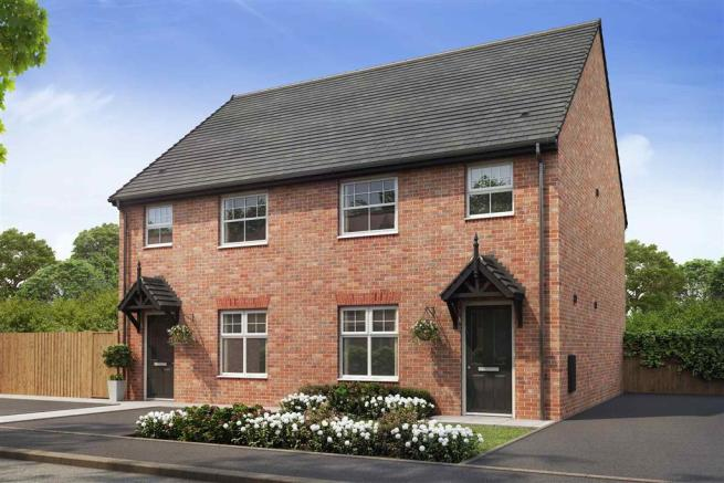 Artist impression of The Gosford (Red Brick) at Tootle Green