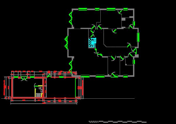 Garage approved plan
