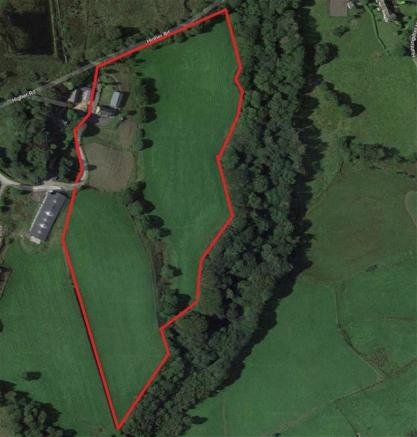 Boundary Outline Including Approx 8 Acres