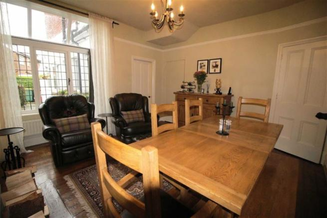 Second view of dining room