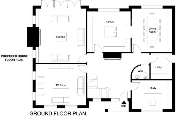 PROPOSED HOUSE PLAN1