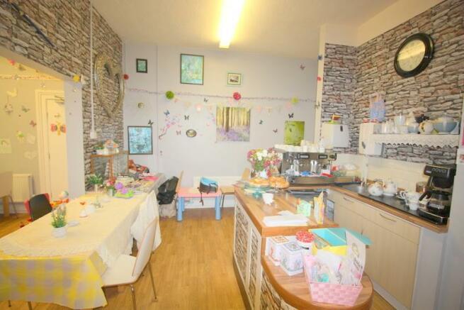 Cafe Reception area