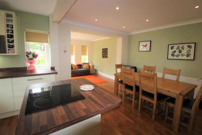 Open Plan Kitchen/ Dining/ Family Room