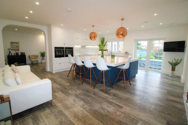 Stunning Kitchen Dining Room
