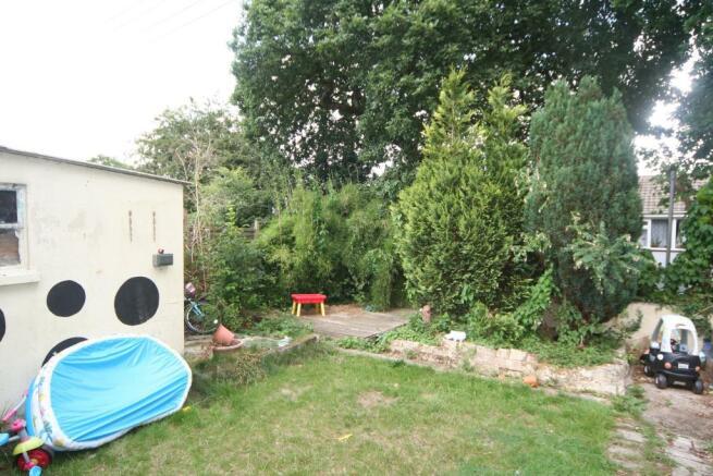 6 rear garden