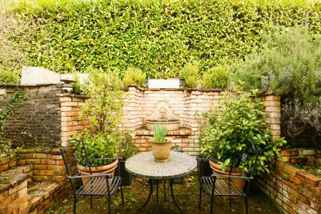 Rear Courtyard of...