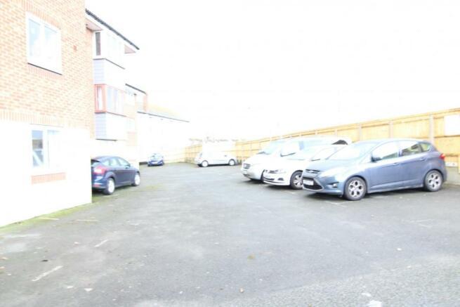 Car park at the rear