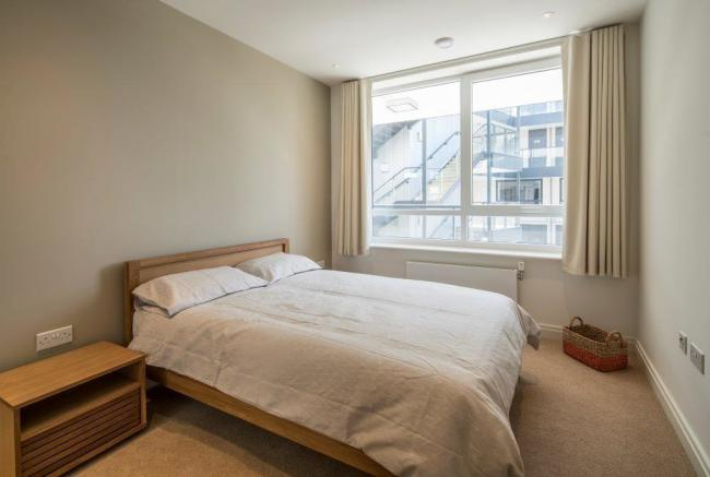 Spacious double bedrooms