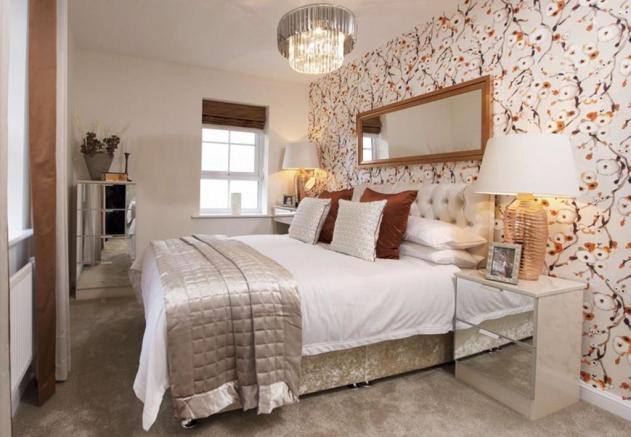 Lincoln double bedroom