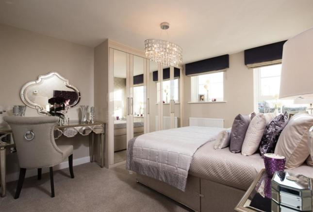 Harborough master bedroom