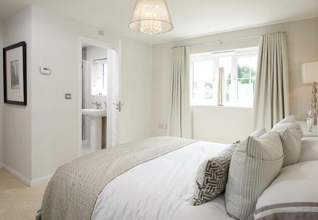 Somerton master bedroom