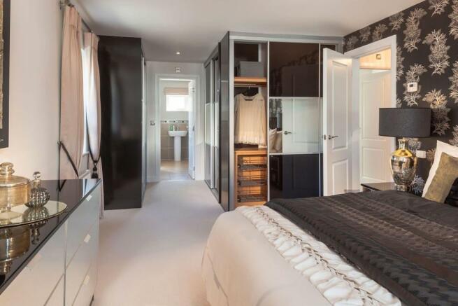 Stratford master Bedroom