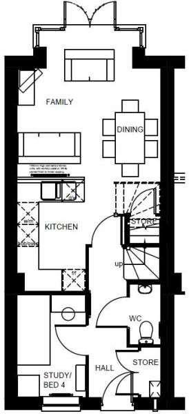 Helmsley ground floor plan