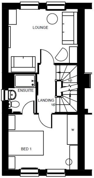 Helmsley first floor plan