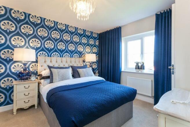 Thornbury master bedroom