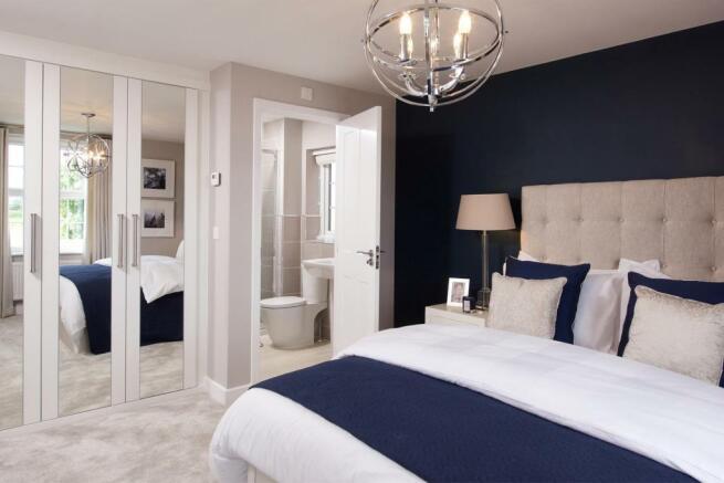 Halstead master bedroom