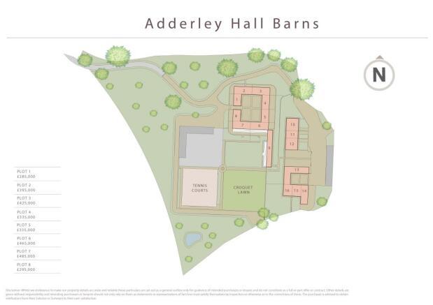 Adderley Site Plan