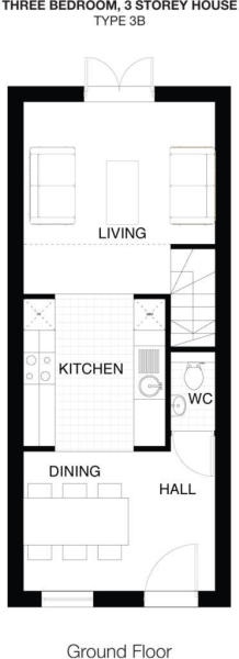 Type 3B Ground Floor