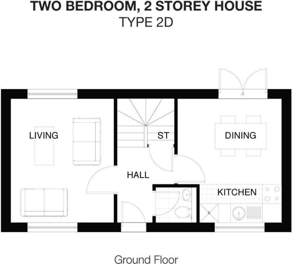 Type 2D Ground Floor