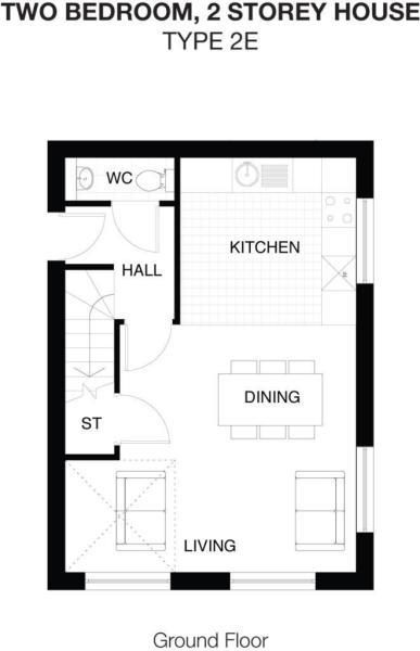 Type 2E Ground Floor