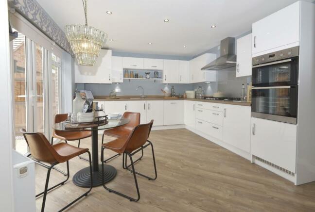 Stylish breakfast kitchen