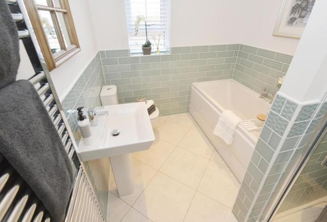 The Moorecroft bathroom