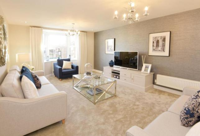 The Chimes Holden Show Home Lounge