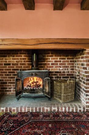 house. estate agency Alfold woodburner